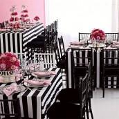 Décoration mariage baroque : le centre de table