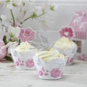 Les 10 socles à cupcake roses vintage