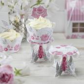 Le mini piédestal à cupcake (par 3)