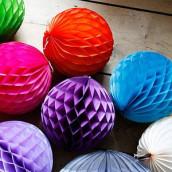 Decoration halloween idees - Fabriquer boule de noel en papier ...