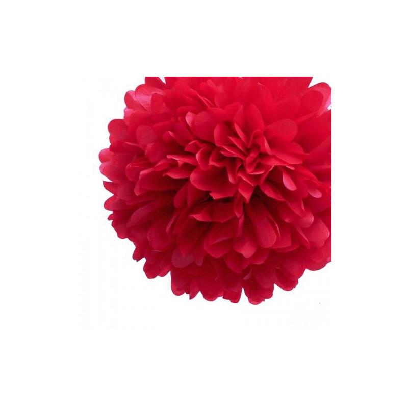 Pompons en papier 20cm 30cm 38cm - Video de fleur en papier ...
