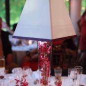 Le vase conique 17cm sur 50cm de hauteur