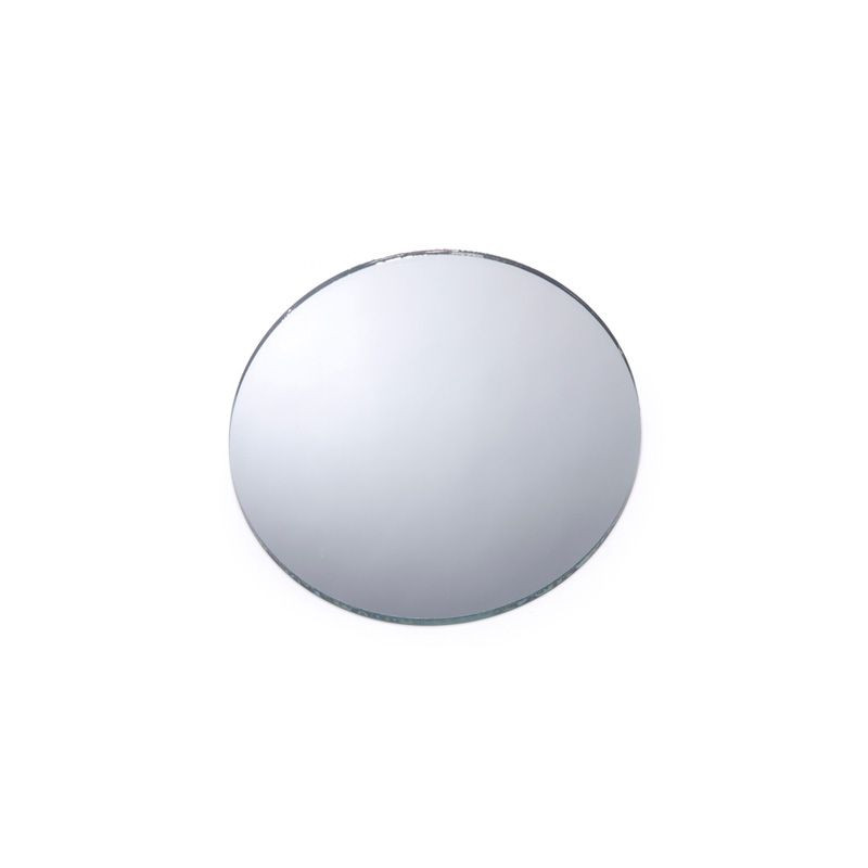 Miroir de table rond pour centre de table for Petits miroirs ronds