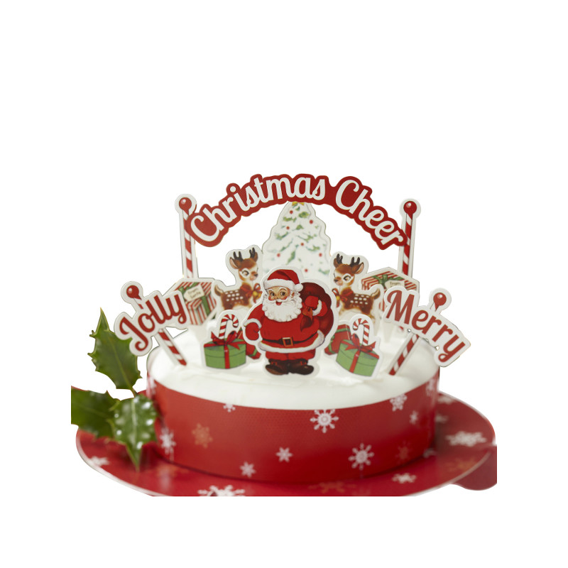 Decorations de noel pour gateau - Les decorations de noel ...