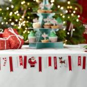 La mini bannière décorative de Noel