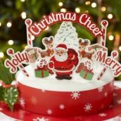Les décorations de Noel pour gâteau