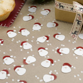 Les confettis de table père Noel