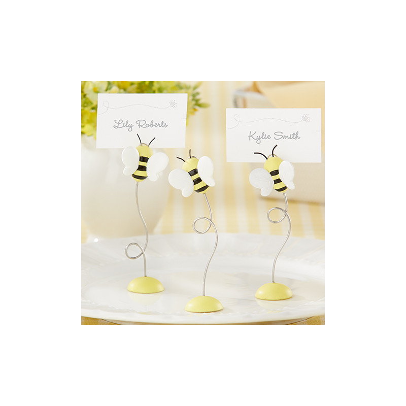 Marque place abeille for Decoration porte nom