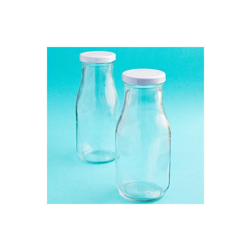 bouteille de lait en verre avec couvercle. Black Bedroom Furniture Sets. Home Design Ideas