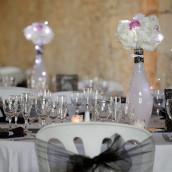 La décoration de Yael et rémi : mariage rétro chic