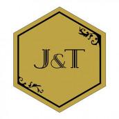 Le sticker personnalisé opulence noir et or