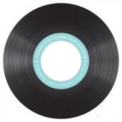 Les 6 stickers disque vinyl pour cd
