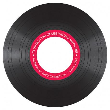 sticker pour cd personnalisable vinyl. Black Bedroom Furniture Sets. Home Design Ideas