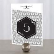 Les 12 numéros de table opulence