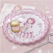 Les assiettes en carton princesse