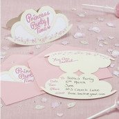 Les 10 invitations couronne de princesse
