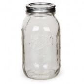 Le bocal en verre mason jar 23,4cm