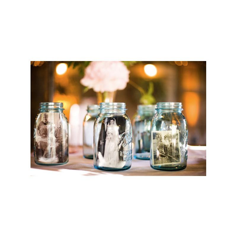 bocal en verre mason jar. Black Bedroom Furniture Sets. Home Design Ideas