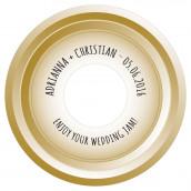 Les 6 stickers pour cd or