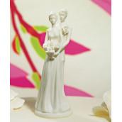 La figurine de mariage rétro pour pièce montée