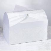 L'urne de mariage coffre blanc