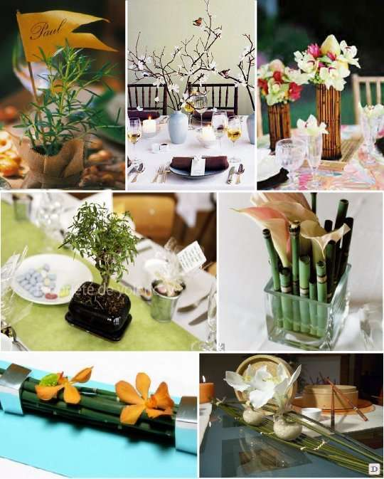 Mariage theme asie zen 1001 id es deco for Idee deco centre de table
