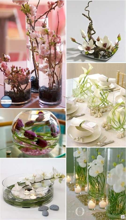 Mariage theme asie zen 1001 id es deco - Decoration de fleurs ...