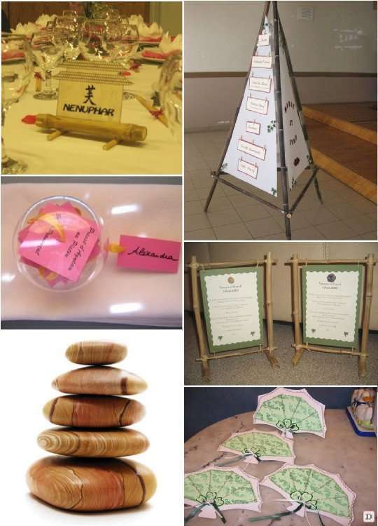 mariage theme asie zen 1001 id es deco. Black Bedroom Furniture Sets. Home Design Ideas