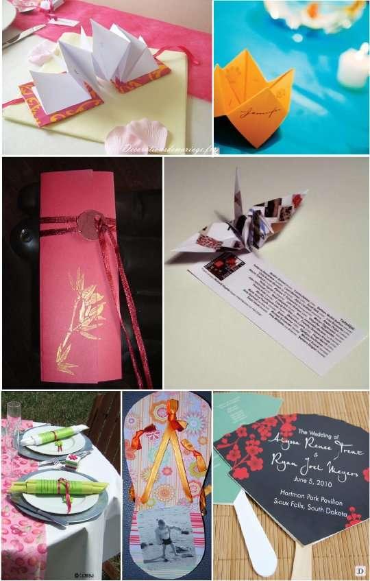 Decorations De Table Theme Asiatique
