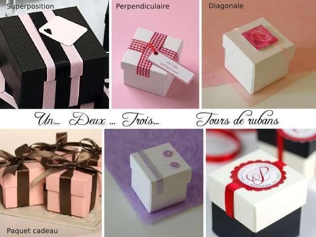 Souvent Boite dragees cube : des tonnes d'idées PX42