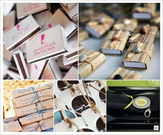 cadeaux invites mariage boite allumette metre sac plage - Allumettes Personnalises Mariage