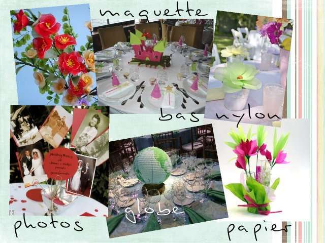 Centre de table mariage des id es d co - Decoration de table originale ...