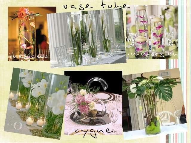 Centre de table mariage des id es d co - Decoration de vase pour mariage ...