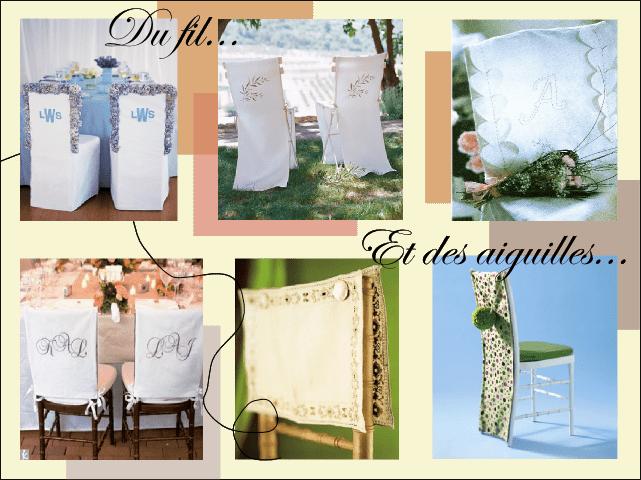 Idees decoration chaise banc eglise - Housses de chaises en tissu ...