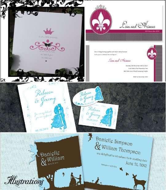 Fabulous Faire part mariage disney texte – Votre heureux blog photo de mariage GJ92