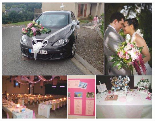 decoration_mariage_rose_fuchsia_papillon