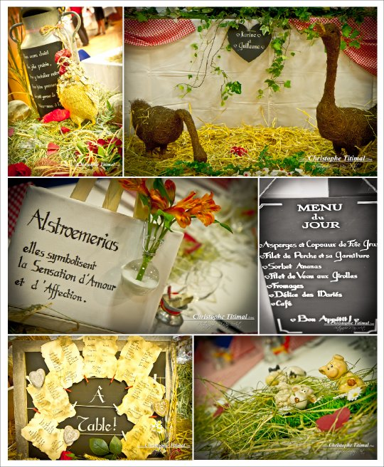 decoration mariage champetre fermier - Urne Mariage Champetre