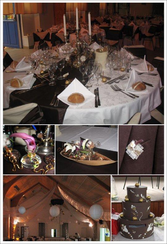 Mariage chocolat vert anis for Centre de table gourmandise