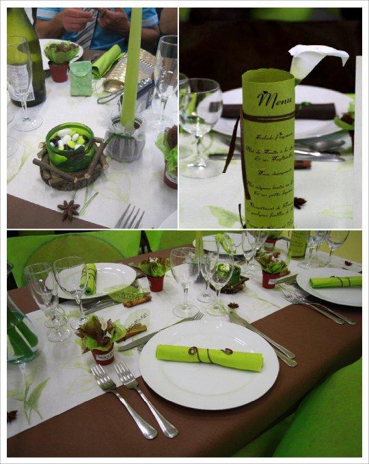 Mariage plantes medicinales vrais mariages - Decoration de la table ...