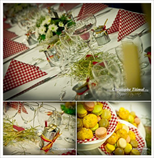 decoration mariage champetre fermier