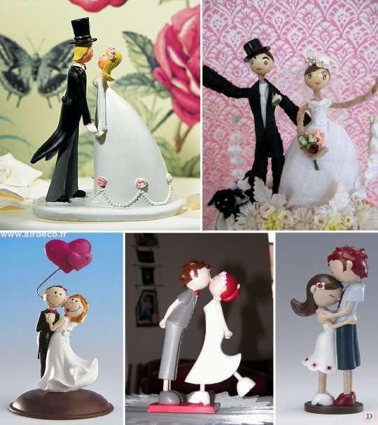 figurine_mariage_gateau_piece_montee_enfantine_romanesque - Figurine Mariage Personnalise