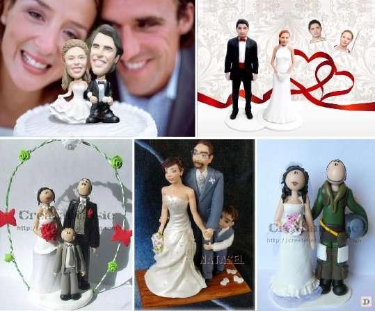Des Idées Pour La Figurine De Gâteau De Mariage