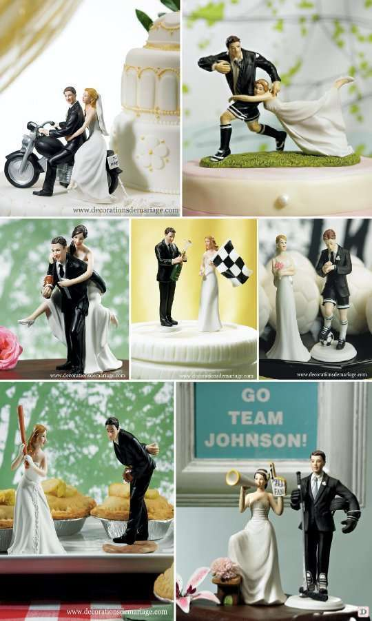 figurine_mariage_piece_montee_thematique_sport_football_rugby_base_ball