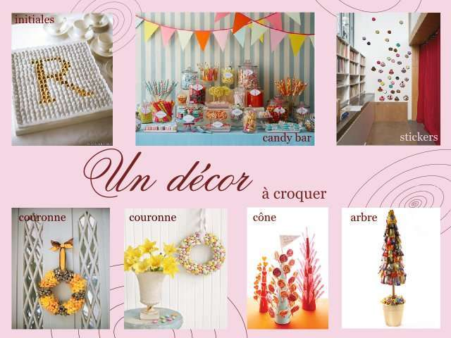 Decoration mariage gourmandise meilleure source d for Decoration table gourmandise