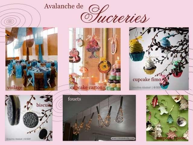 Theme mariage gourmandise plein d 39 id es - Decoration theme gourmandise ...