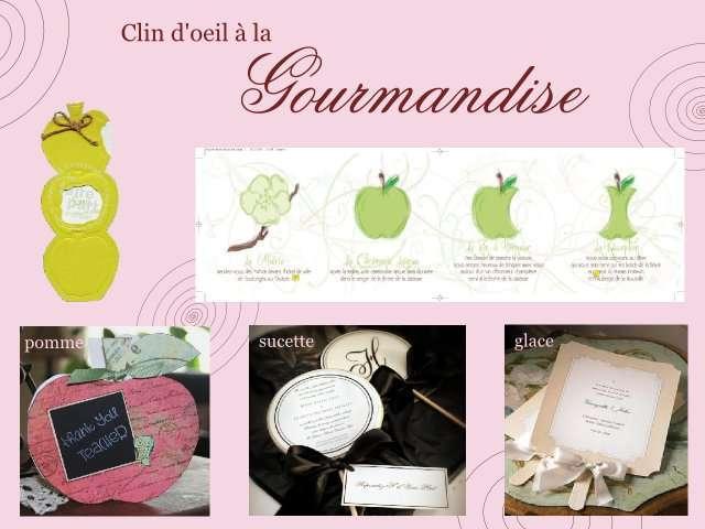 mariage gourmand faire part - Texte Faire Part Mariage Gourmandise