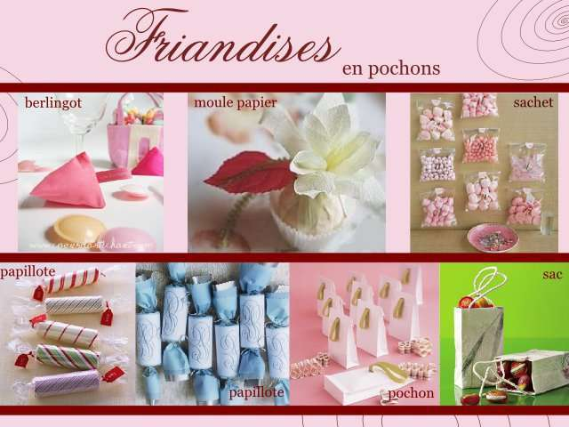 Theme mariage gourmandise plein d 39 id es for Decoration theme gourmandise