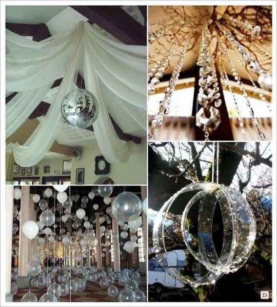 décoration de mariage : du cristal, du transparent et de la récup ...