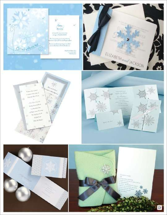 Assez deco mariage theme hiver idees WC93