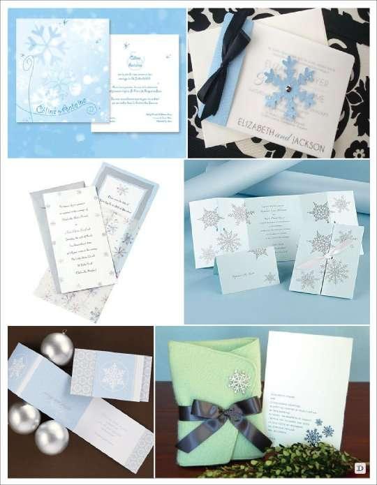 Assez deco mariage theme hiver idees ZQ08